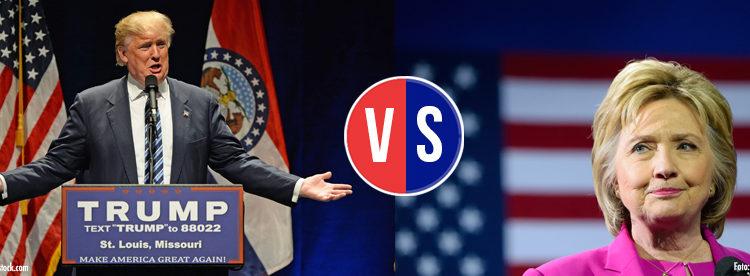 leadership analysis of trump and hillary
