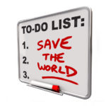 Change Management and Saving the World